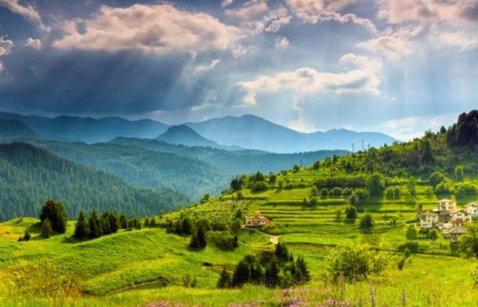 Болгарские холмы