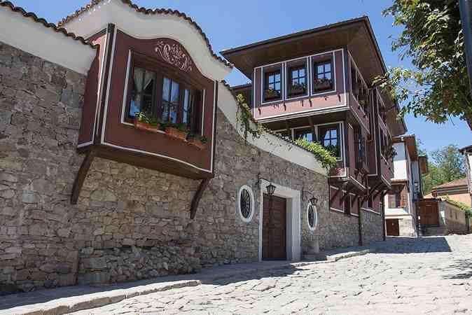 Старый город Пловдив