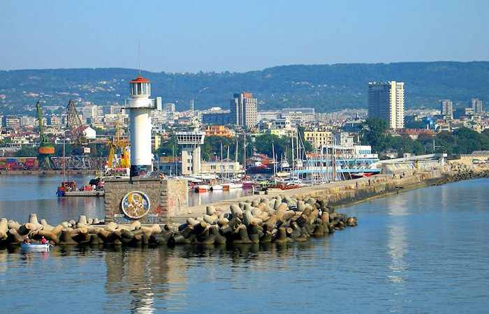 Портовый город Варна