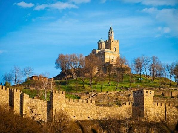 Крепость Царевец Велико Тырново