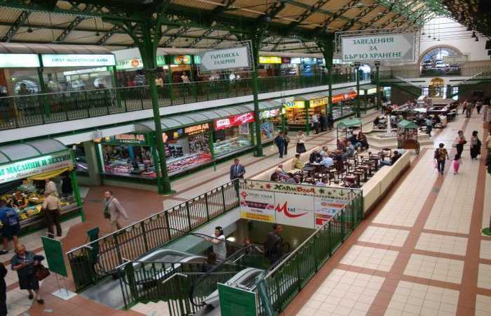 Хали - городской крытый рынок