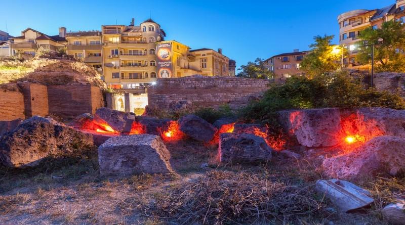 Римские бани Варна