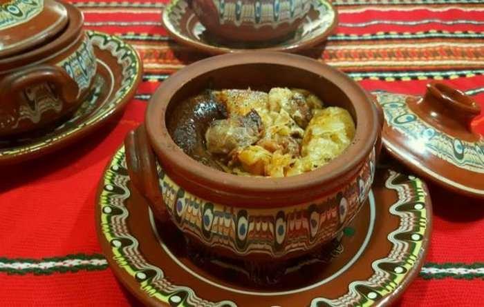 Болгарская кухня Капама