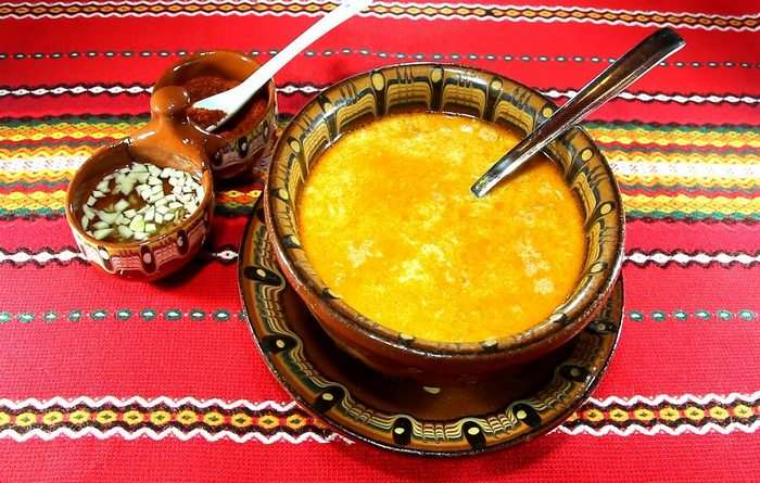 Болгарская кухня Шкембе Болгарский суп