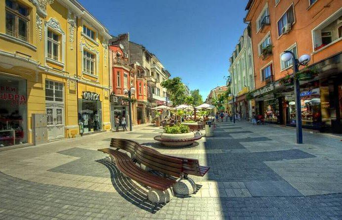 Центральная улица Бургаса