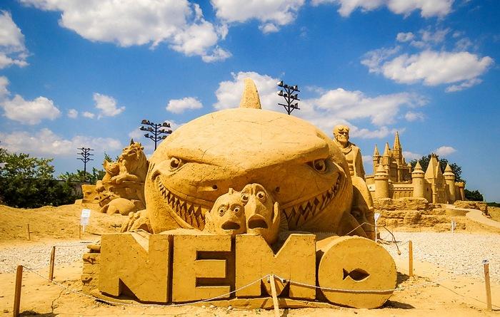Песочный фестиваль Бургаса