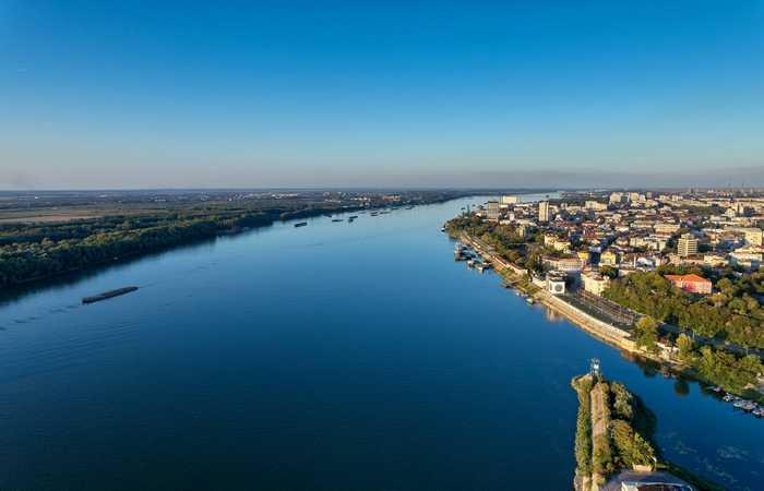 река Дунай город Русе