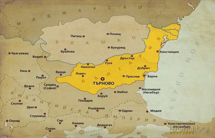 Восстание Асена и Петра 1185 - 1197