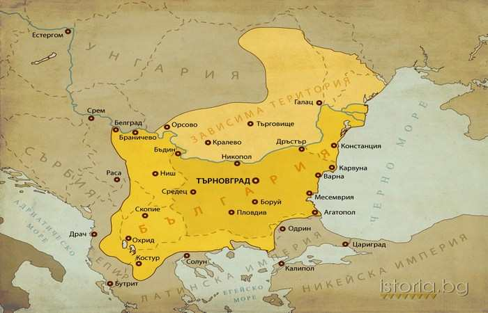 Царь Калоян 1207 - 1241