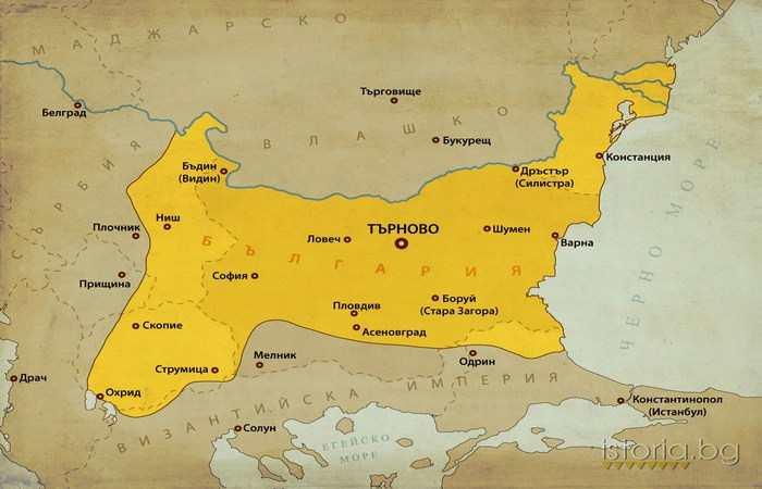 Константин Тих Асен 1277 - 1371