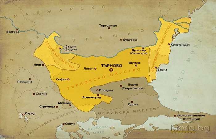 после Иван Александр 1371 - 1396