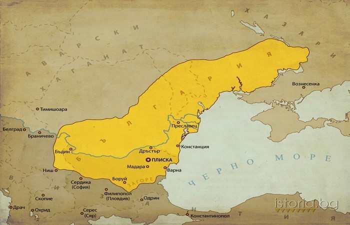 Хан Тервел 705 - 814
