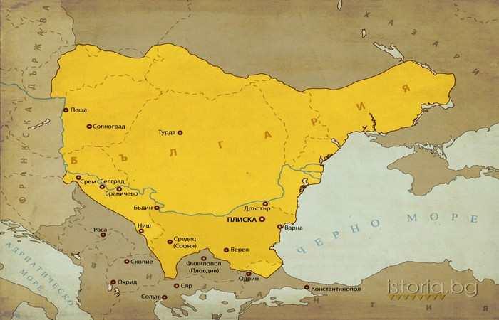 Хан Крум 814 - 836