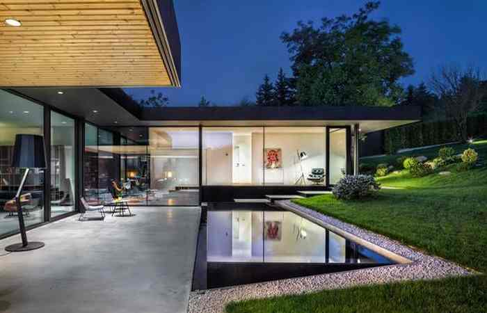 элитный дом с бассейном