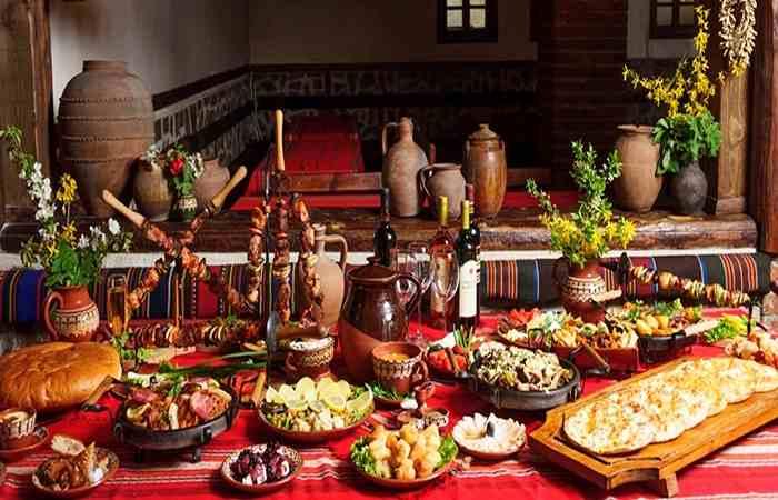 новогодний болгарский стол