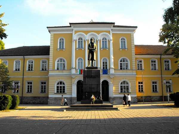 Город Габрово - Априловская гимназия