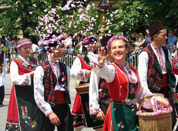 Город Казанлык - Фестиваль роз