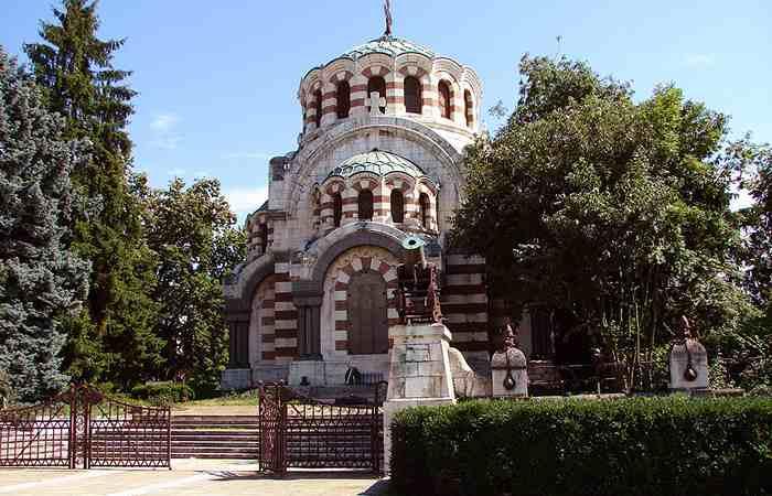 Город Плевен Победоносная часовня Святого Георгия
