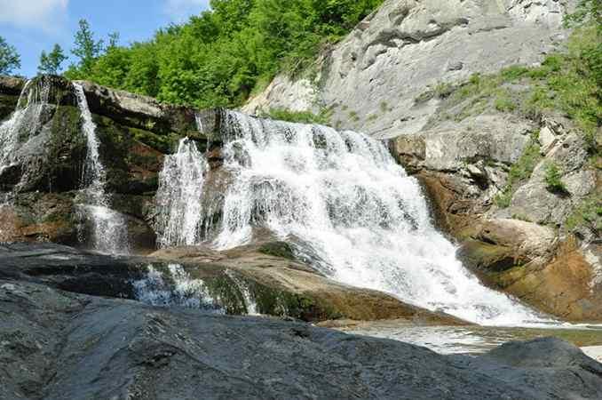 водопад реки Мийковска
