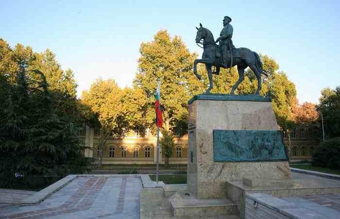 Город Плевен Парк-музей Скобелева
