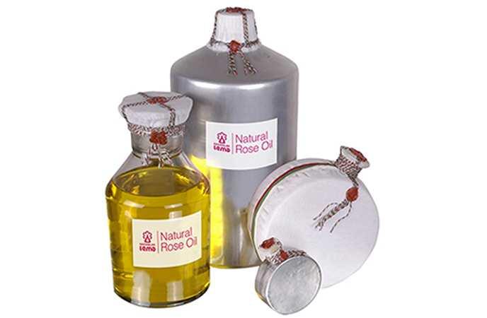 Болгарское розовое масло