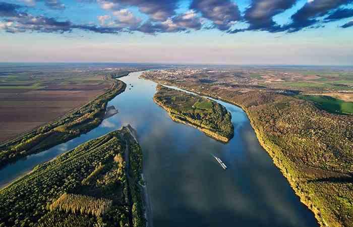 Климат в Болгарии - река Дунай