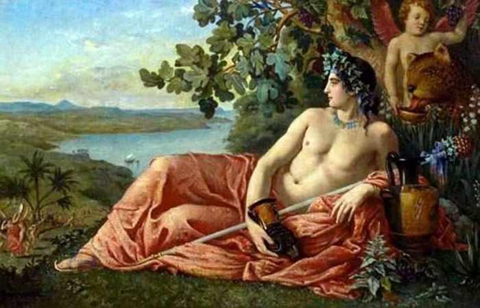 Древнегреческий бог Дионис и Трифон Зарезан