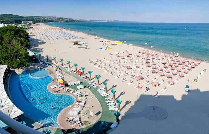 Болгарский пляж Албена