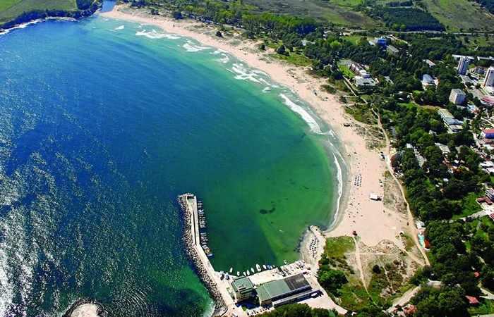 Пляж в Болгарии Атлиман