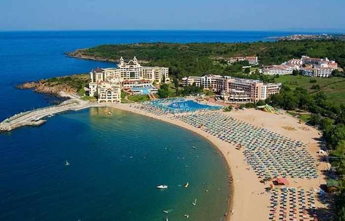 Болгарский пляж Дюны