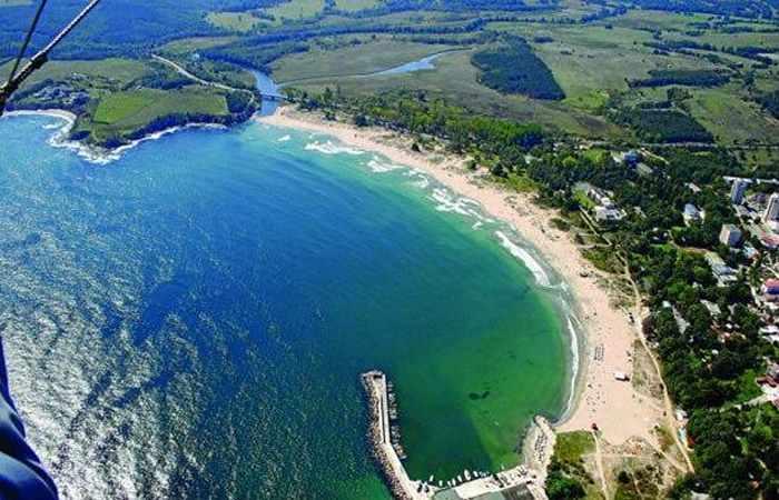 Болгарский пляж Каваците