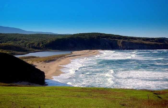 Красивые пляжи Болгарии пляж Коса