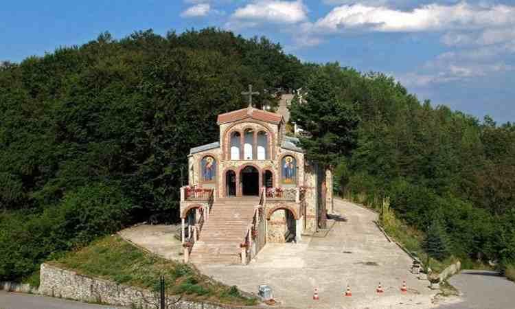 Болгарские монастыри - Крестовая гора