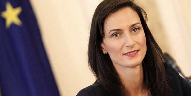 Мария Габриэль — еврокомиссар по цифровой экономике, отвечала за права женщин