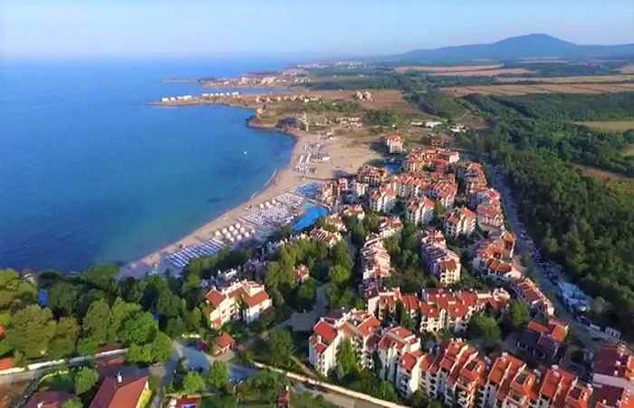 Черноморский пляж Оазис