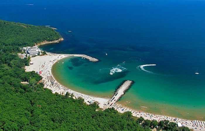 Болгарский пляж Перла