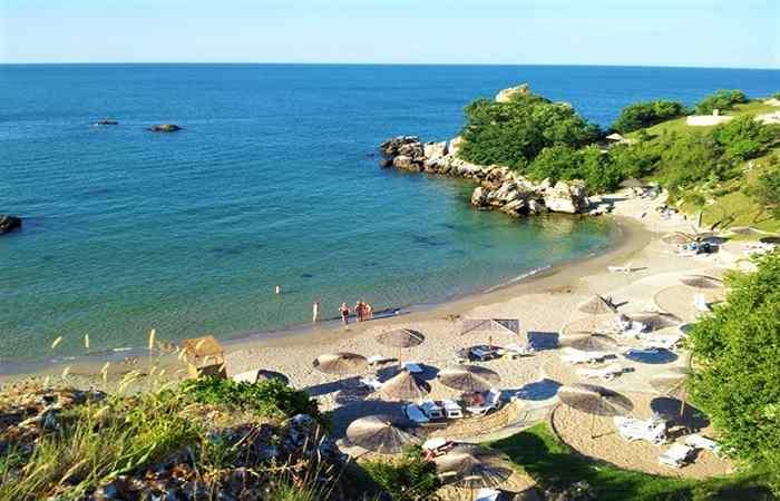 Болгарский пляж Русалка