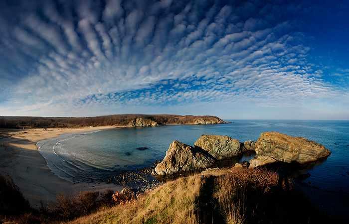 Красивые пляжи Болгарии Силистар