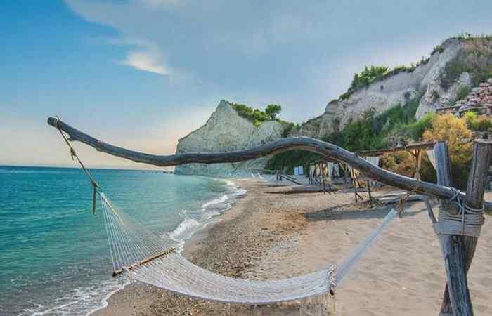 Болгарские пляжи Фракийские скалы Гольф