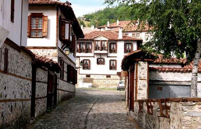 старый город Златоград