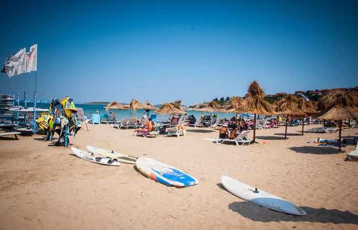 Один из лучших пляжей Болгарии