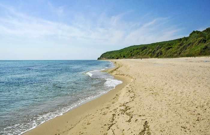 Чистые пляжи Болгарии Камчия