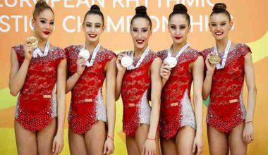 Турнир по художественной гимнастике – кубок мира по художественной гимнастике прошел в Софии