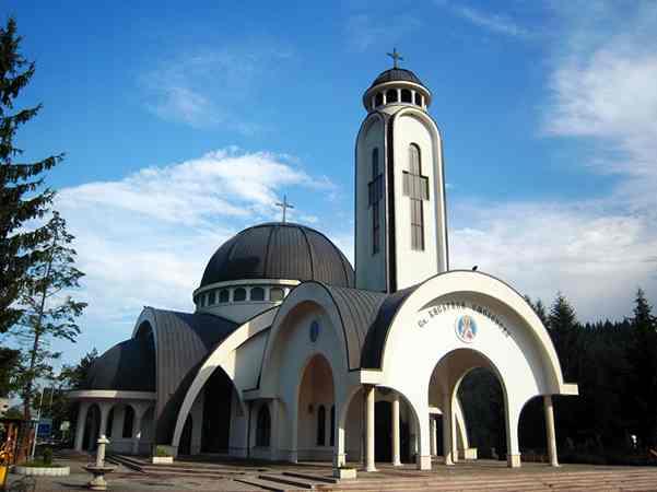 Храм в городе Смолян