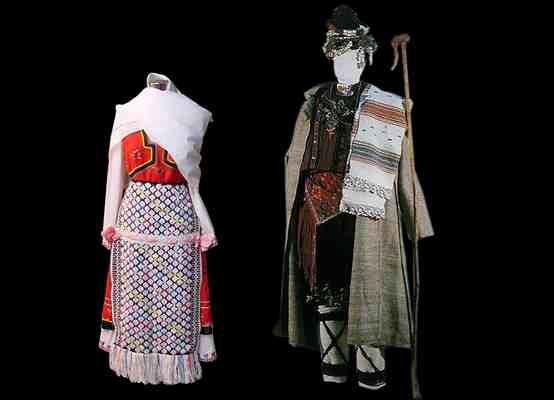 Народные костюмы Добруджанского фольклорного района