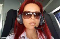 Женщина пилот — командир Райна Косева с самой красивой профессией