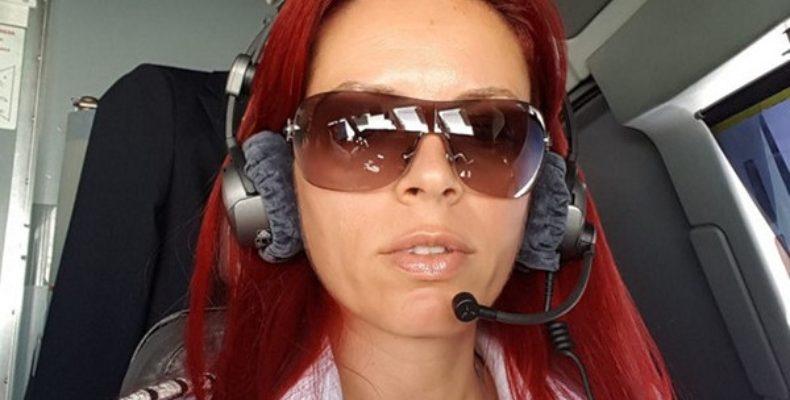 Женщина пилот – командир Райна Косева с самой красивой профессией