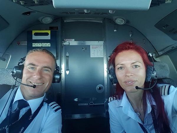 Женщина пилот командир авиации