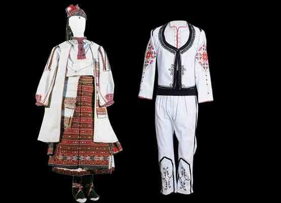 Народные костюмы Северного фольклорного района