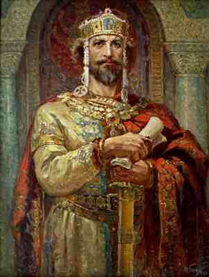Картина «Царь Симеон»